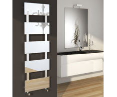 Reina Mirror Designer Heated Towel Rails