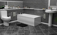 Modern Bathroom Suite Packages