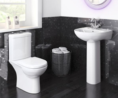 Modern Toilet & Basin Sets