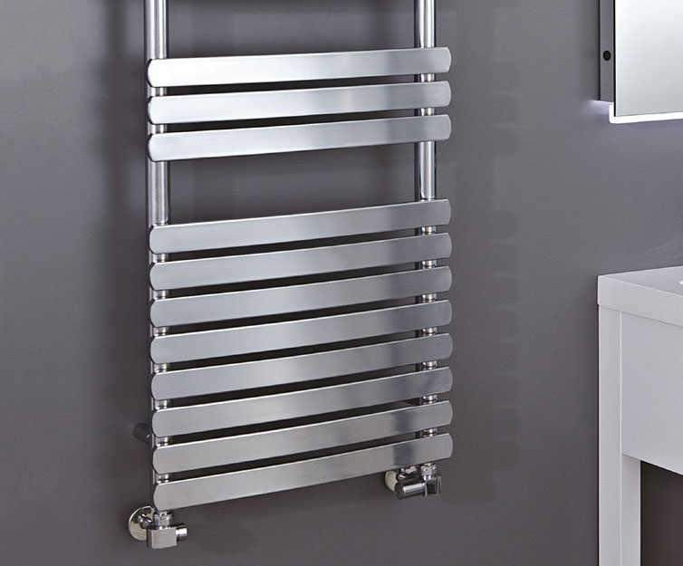 Olivia Curved Heated Towel Rail