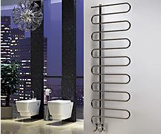 Onyx Spiro Designer Towel Rails