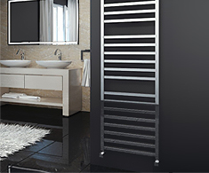 Onyx Leonora Designer Towel Rail