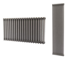 Onyx Raw Lacquered Metal Radiators