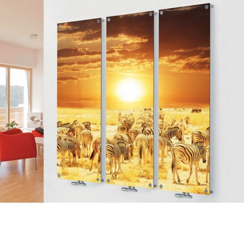 Printed Vertical Designer Radiators