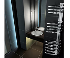 Lazzarini Pisa Designer Heated Towel Rail