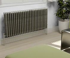Raw Metal Horizontal Column Radiators