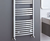 Rechelle Curved Designer Heated Towel Rail