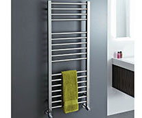 Roscoe Stainless Steel Designer Heated Towel Rail