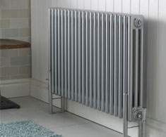 Silver Horizontal Column Radiators