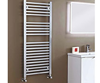 Sophia Square Tube Heated Towel Rail