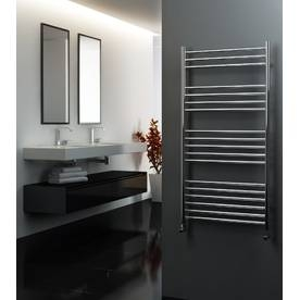 Straight Stainless Steel Heated Towel Rails