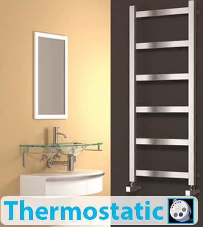 Thermostatic Variable Heat Electric Towel Rails