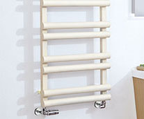 Totu Steel Designer Heated Towel Rail