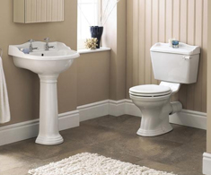 Traditional Toilet & Basin Sets