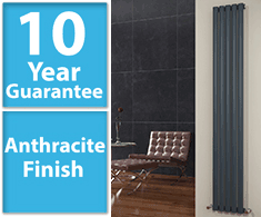 Grey Vertical Column Radiators