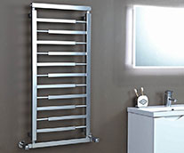 Vogue Steel Designer Heated Towel Rail