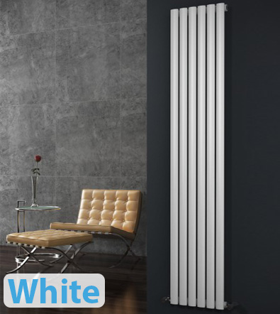 White Horizontal Designer Radiators