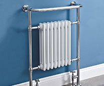York Traditional Heated Towel Rail