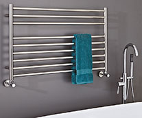 Zonta Stainless Steel Designer Heated Towel Rail