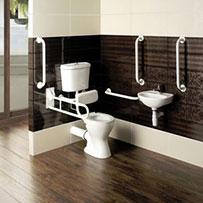 Access Mobility Toilet & Basin Suites