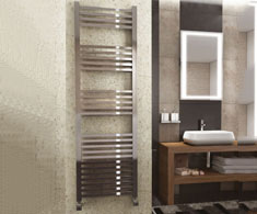 kartell k-squared designer towel rail