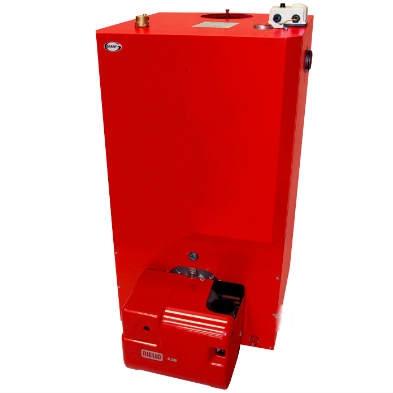 Boiler house oil boiler