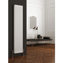 White Vertical Column Radiators