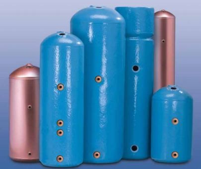 How does a Boiler heat water in your cylinder?