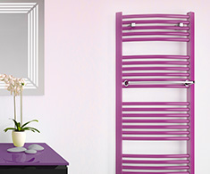 Custom Painted Designer Heated Towel Rails