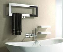 Designer heated towel rail