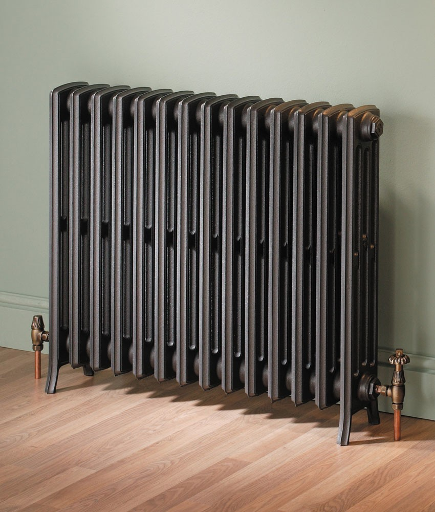 Custom Painted Horizontal Column Radiators