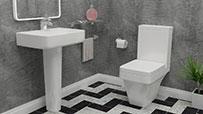 Plumbers Choice Modern Toilet & Basins Sets