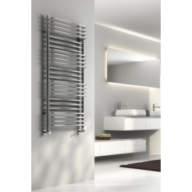 chrome designer heated towel rails - Designer Heated Towel Rails For Bathrooms