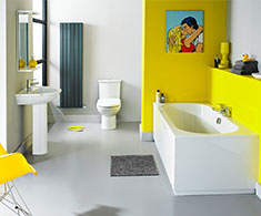 Modern Bathroom Suite Packages