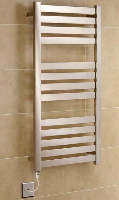 TradeRad Flat Tube Stainless Steel Towel Rails
