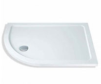 Offset Quadrant Shower Trays