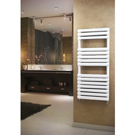 White Designer Heated Towel Rails