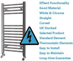Maxtherm Electric Ladder Towel Rails