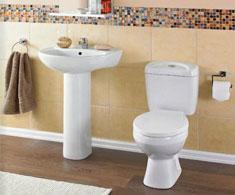 Toilets and Basins