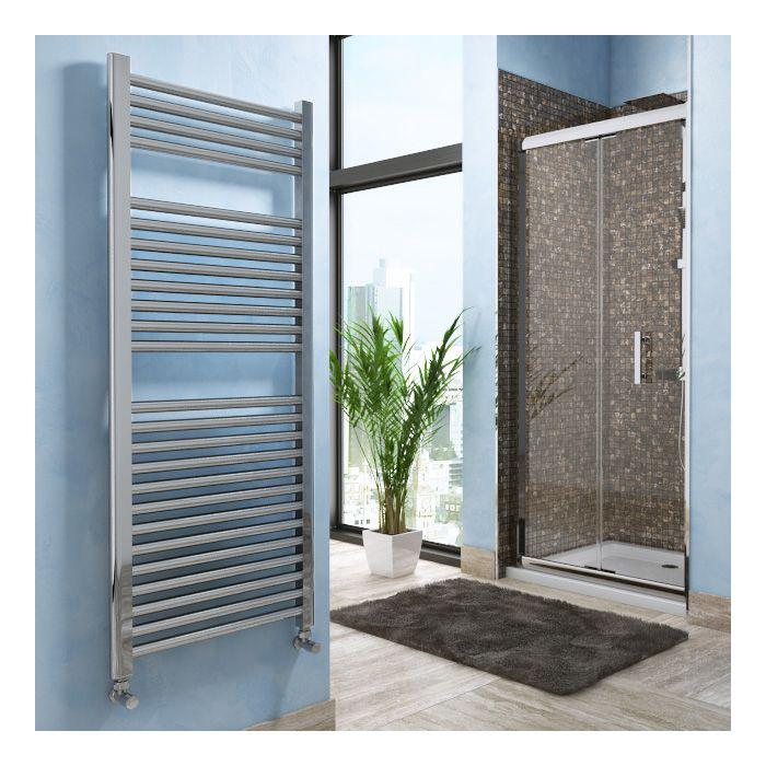 Lazzarini Roma Straight Designer Heated Towel Rail