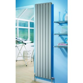 Silver Vertical Designer Radiators