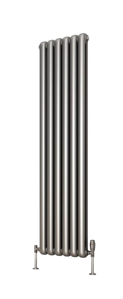 Silver Vertical Column Radiators