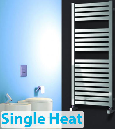 Single Heat Electric Towel Rails