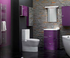 Eastbrook Splash of Colour Aubergine Furniture Range