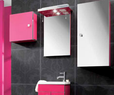 Eastbrook Splash of Colour Pink Furniture Range