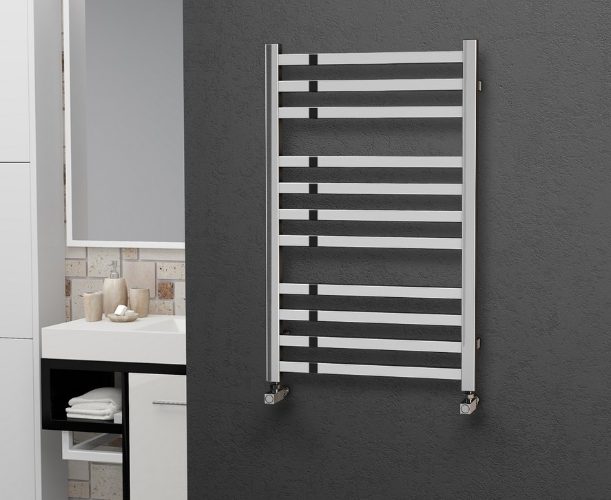Eastgate 304 Square Stainless Steel Heated Towel Rails