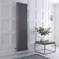 Raw Metal Vertical Column Radiators