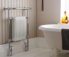 Floor Standing Traditional Heated Towel Rails