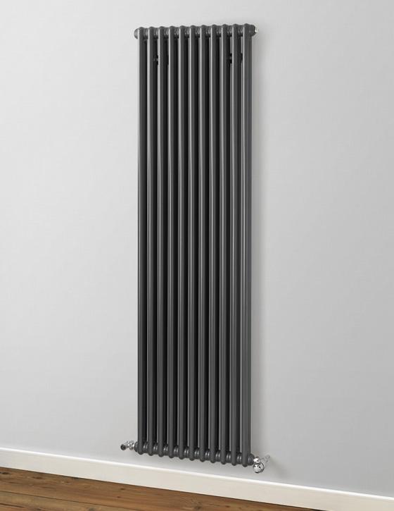Anthracite Column Radiators Vertical