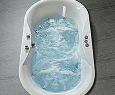 Corner Whirlpool & Spa Baths